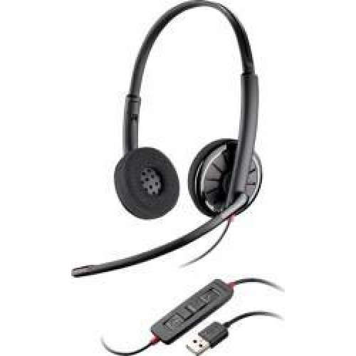 Casca Call Center Plantronics BLACKWIRE C320-M, USB, Binaural