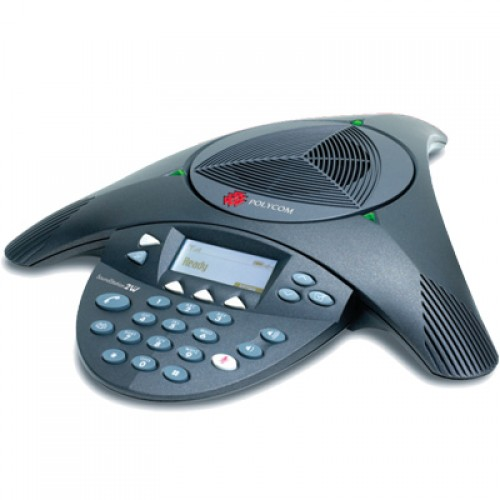 Sistem de audioconferinta Polycom SoundStation2W Nonexpandabil, wireless, analogic-digital.