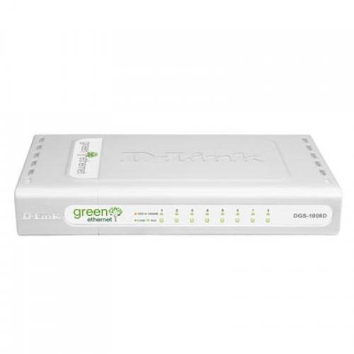 Switch fara management D-Link DGS-1008D Gigabit