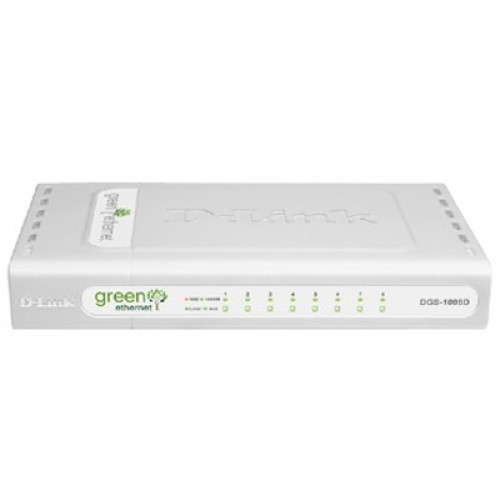 Switch fara management D-Link DGS-1008D 8-port 10/100/1000 Gigabit Desktop