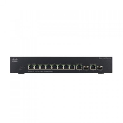 Switch cu management Cisco SRW2008-K9-G5, 8 x gigabit, 2 x mini-GBIC