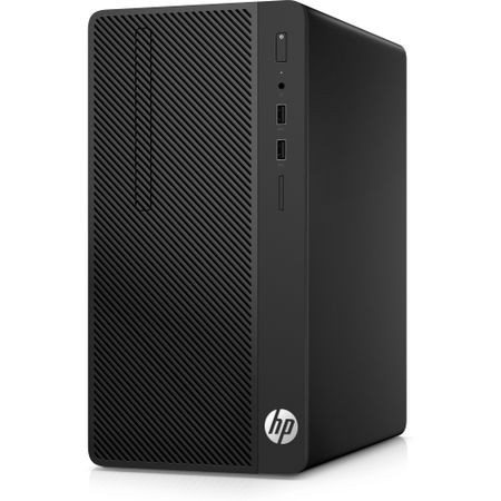 Sistem Desktop PC HP 290 G1 MT cu procesor Intel® Core™ i3-7100 3.90 GHz, 4GB, 256GB SSD, DVD-RW, Intel® HD Graphics 630, Microsoft Windows 10 Pro
