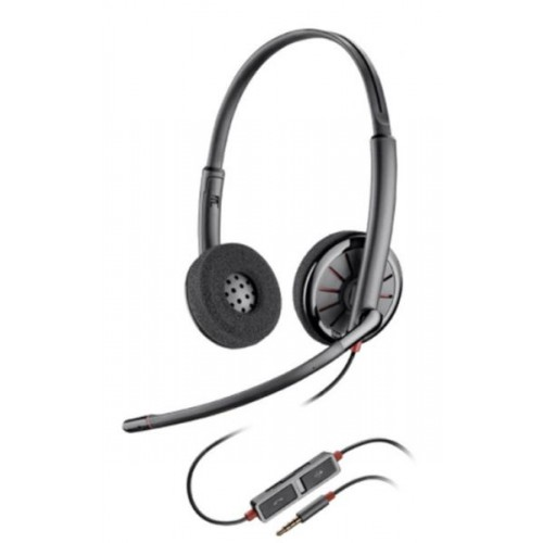 Casti Call Center Plantronics BLACKWIRE 225, Jack 3.5mm