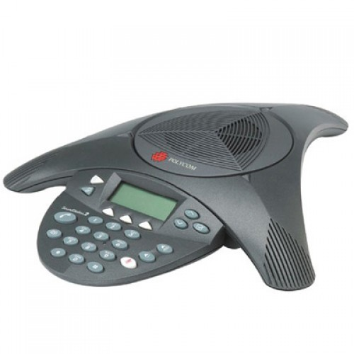 Sistem de audioconferinta Polycom SoundStation2 Nonexpandabil, cu display