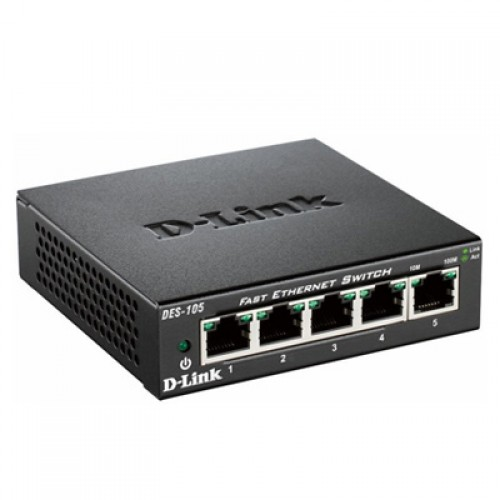 Switch fara management D-Link DES-105 Fast Ethernet