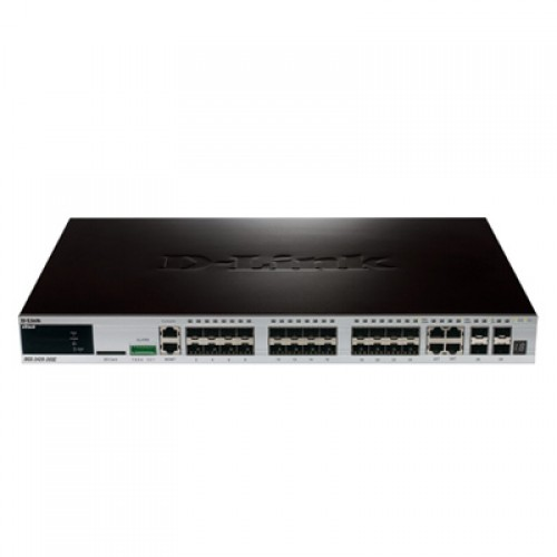 Switch cu management D-Link DGS-3420-28TC xStack