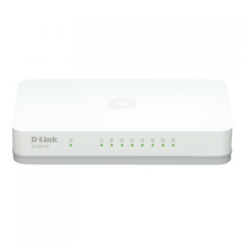 Switch fara management D-Link GO-SW-8G 8-port 10/100/1000 Gigabit Desktop